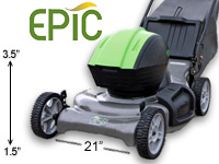 Electric Lawn Mowers at People Powered Machines
